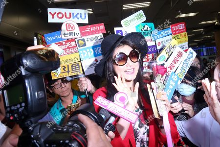 Editorial photo of Norika Fujiwara at Taiwan Taoyuan International Airport, Taipei - 29 Mar 2018