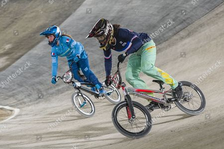 Editorial picture of UCI BMX World Championships, Men's, Training, Saint-Quentin, France - 30 Mar 2018