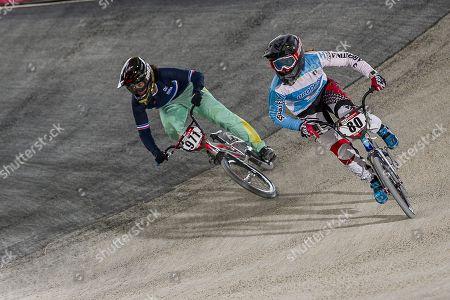 Editorial image of UCI BMX World Championships, Men's, Training, Saint-Quentin, France - 30 Mar 2018