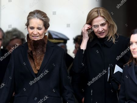Princess Elena of Spain; Princess Cristina of Spain
