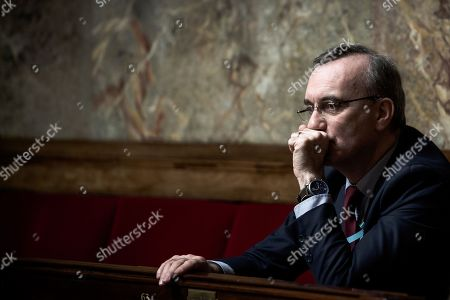 Editorial image of French National Assembly, Paris, France - 03 Apr 2018