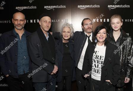 Producer James Wilson, Jonathan Ames, Judith Anna Roberts, Joaquin Phoenix, Director Lynne Ramsay and Ekaterina Samsonov