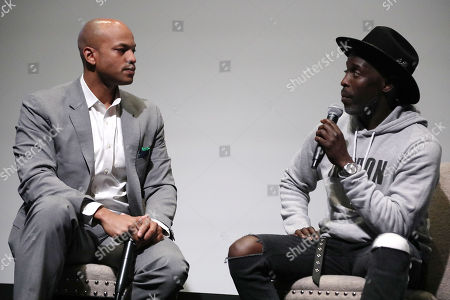 Wes Moore and Michael K Williams