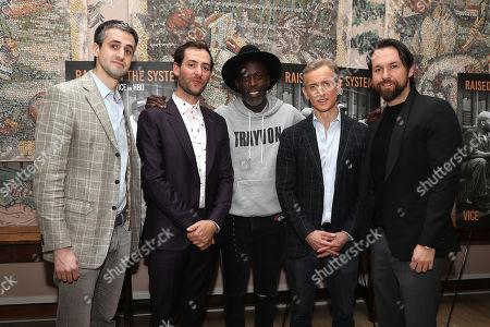 Matthew Horowitz (Exec. Producer), Jerry Ricciotti, Michael K Williams, Dan Abrams and Tim Clancy (Producer)