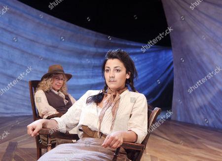 'Oklahoma!' - Louise Plowright (Aunt Eller), Leila Benn Harris (Laurey)