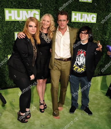 Hung Cast L-R: Sianoa Smit-McPhee, Thomas Jane, Anne Heche, Charlie Saxton, Eddie Jemison