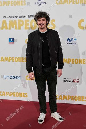 Editorial picture of 'Campeones' film premiere, Madrid, Spain - 03 Apr 2018