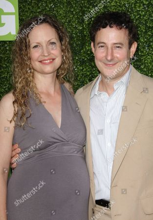 Eddie Jemison and wife