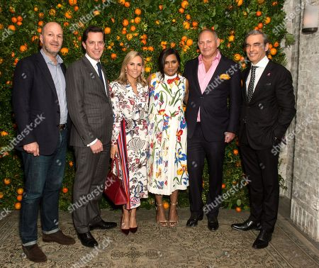 Editorial image of 'Just Like Heaven' Fragrance Launch Dinner, New York, USA - 03 Apr 2018