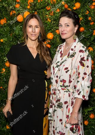 Editorial picture of 'Just Like Heaven' Fragrance Launch Dinner, New York, USA - 03 Apr 2018