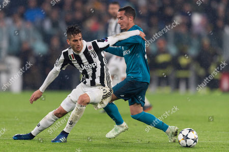 Editorial photo of Juventus v Real Madrid, UEFA Champions League, Quarter-Final, First Leg, Juventus Stadium, Turin, Italy - 03 Apr 2018