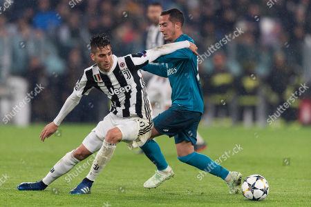 Editorial picture of Juventus v Real Madrid, UEFA Champions League, Quarter-Final, First Leg, Juventus Stadium, Turin, Italy - 03 Apr 2018