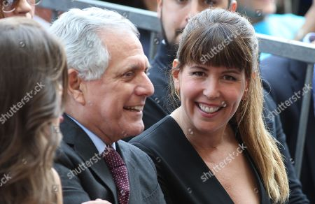 Leslie Moonves and Patty Jenkins