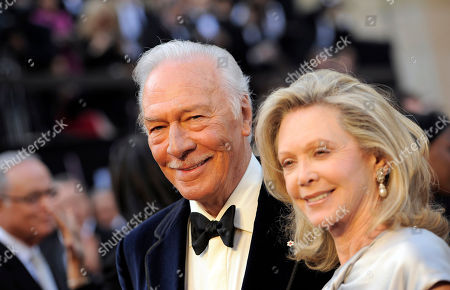 Christopher Plummer, Elaine Taylor. Christopher Plummer, left, and Elaine Taylor arrive before the 84th Academy Awards, in the Hollywood section of Los Angeles