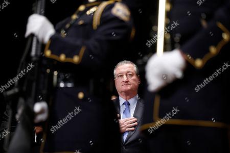 Editorial image of Mayor, Philadelphia, USA - 4 Jan 2016
