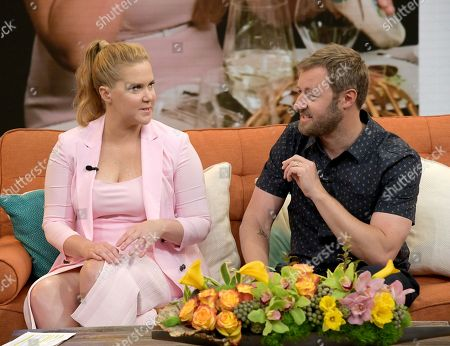 Amy Schumer and Rory Scovel