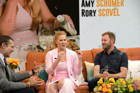 Alan Tacher, Amy Schumer and Rory Scovel