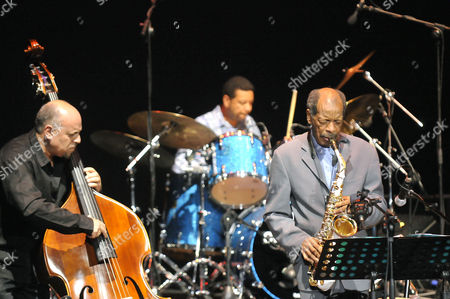 Editorial image of Ornette Coleman in concert in Rome, Italy - 26 Jun 2009