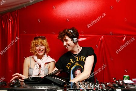 Queens of Noise - Tabitha Denholm of Queens of Noize and Nick Grimshaw