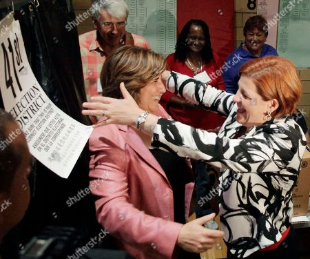 Editorial photo of NYC Mayors Race Quinn, New York, USA - 10 Sep 2013