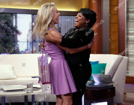 "Elisabeth Hasselbeck, Sherri Shepherd. Elisabeth Hasselbeck, left, is surprised by Sherri Shepherd, her former co-host from ABC's ""The View,"" during her debut show on the ""Fox & Friends"" television program, in New York . The former cast member of ""The View"" replaced Gretchen Carlson"