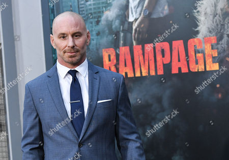 Editorial picture of 'Rampage' film premiere, Los Angeles, USA - 04 Apr 2018
