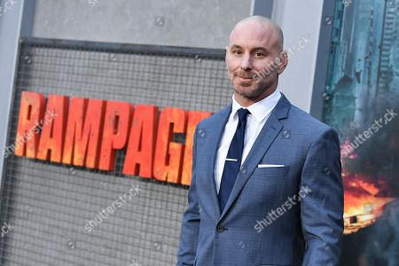 Editorial photo of 'Rampage' film premiere, Los Angeles, USA - 04 Apr 2018