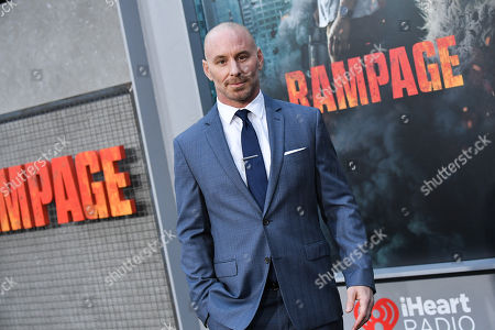 Editorial image of 'Rampage' film premiere, Los Angeles, USA - 04 Apr 2018