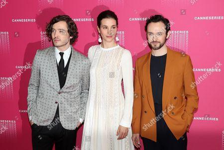 Alexander Vlahos, Elisa Lasowski and George Blagden