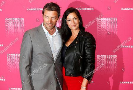 Franck Semonin and Helene Semonin