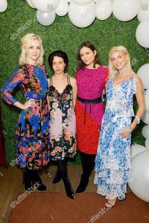 Stock Photo of Portia Freeman, Billie JD Porter, Lilah Parsons and Ashley James