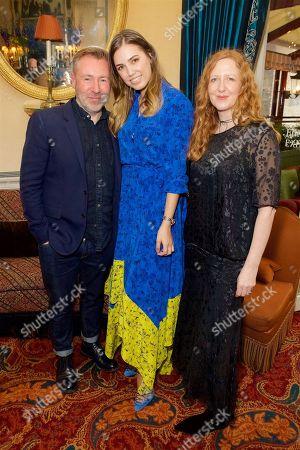 Justin Thornton, Amber Le Bon and Thea Bregazzi