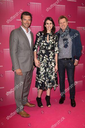 Franck Semonin, Louise Monnot and Xavier Deluc