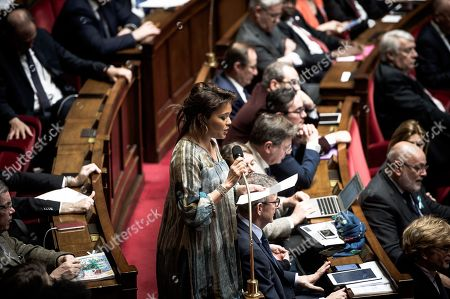 Editorial photo of French National Assembly, Paris, France - 04 Apr 2018