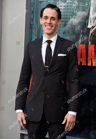 """Jason Liles arrives at the world premiere of """"Rampage"""" at the Microsoft Theater, in Los Angeles"""