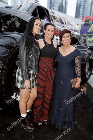 Simone Johnson, Dany Garcia, Executive Producer, Ata Johnson