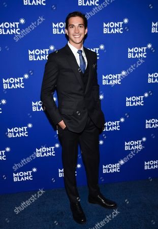 Stock Photo of Actor Jose Dammert attends Montblanc's celebration of the 75th anniversary of Le Petit Prince at One World Observatory, in New York