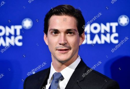 Stock Picture of Actor Jose Dammert attends Montblanc's celebration of the 75th anniversary of Le Petit Prince at One World Observatory, in New York