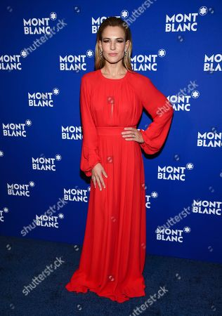 Ana Rita Clara attends Montblanc's celebration of the 75th anniversary of Le Petit Prince at One World Observatory, in New York