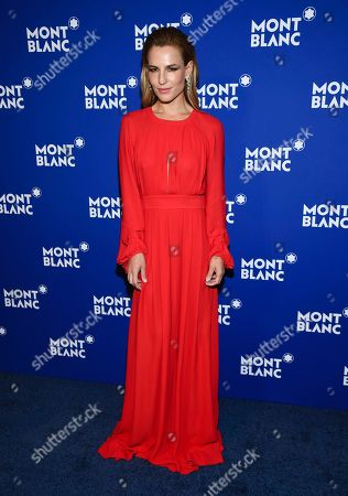 Stock Image of Ana Rita Clara attends Montblanc's celebration of the 75th anniversary of Le Petit Prince at One World Observatory, in New York