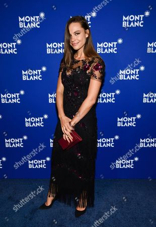 Editorial image of Montblanc Celebrates 75th Anniversary of Le Petit Prince, New York, USA - 04 Apr 2018