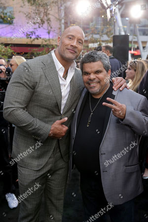 Dwayne Johnson, Executive Producer/Actor, Luis Guzman