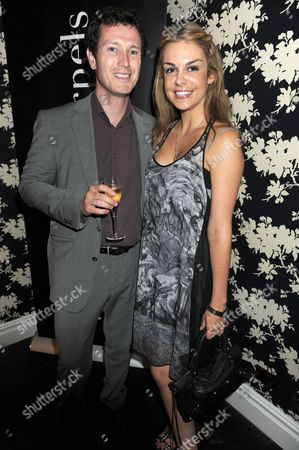 Nick Moran and Vicki Lewis