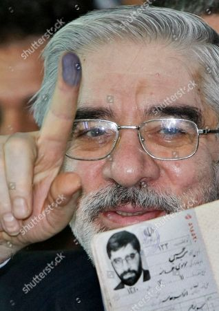 Editorial photo of Mideast Election, Tehran, Iran - 12 Jun 2009