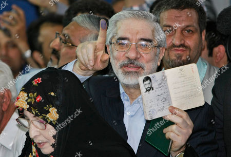 Editorial picture of Mideast Election, Tehran, Iran - 12 Jun 2009