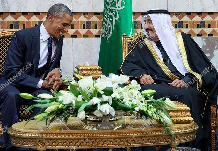 Editorial image of Mideast US Obama, Riyadh, Saudi Arabia - 27 Jan 2015
