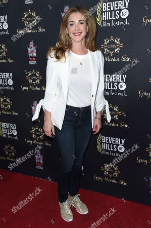 Peri Gilpin attends the Opening Night of the 2018 Beverly Hills Film Festival at the TCL Chinese 6 Theatres, in Los Angeles