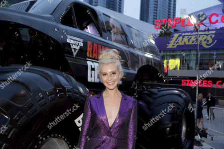 Editorial photo of 'Rampage' film premiere, Los Angeles, USA - 04 Apr 2018