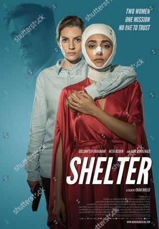 Shelter (2017) Poster Art. Lior Ashkenazi, Neta Riskin, Golshifteh Farahani