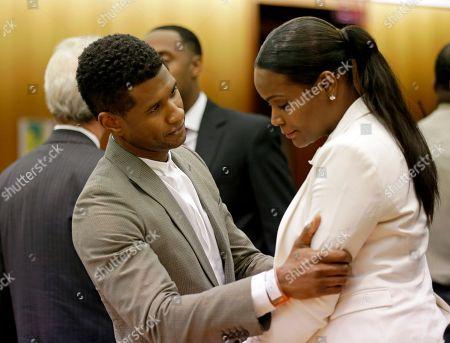 Editorial photo of People Usher, Atlanta, USA - 9 Aug 2013